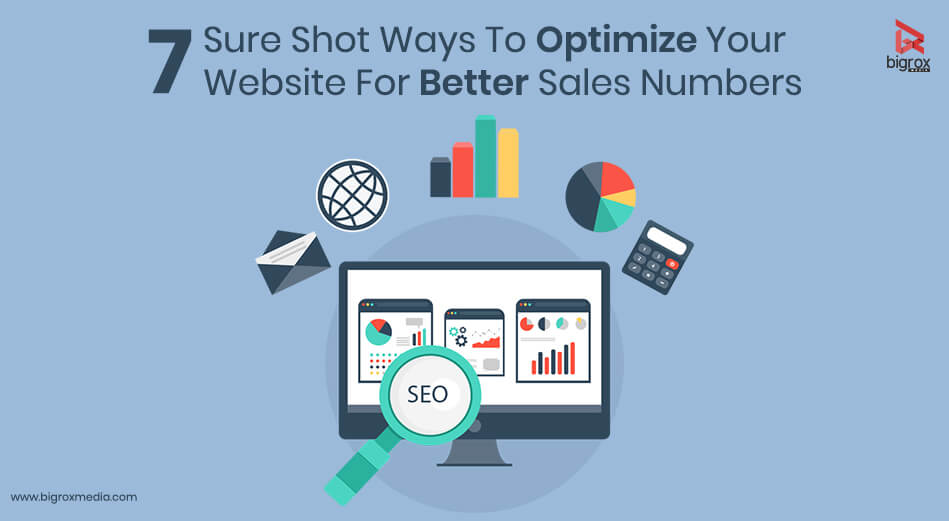 7 Sure Shot Ways To Optimize Your Website For Better Sales Numbers